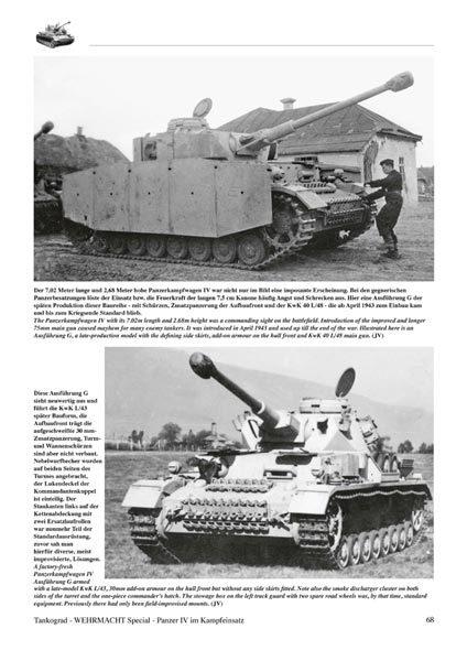 Panzer IV in Combat - Tankograd 4006