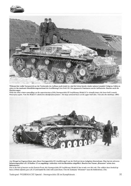 Sturmgeschutz III in Combat