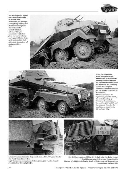 Panzerspaehwagen Sd.Kfz.231/232