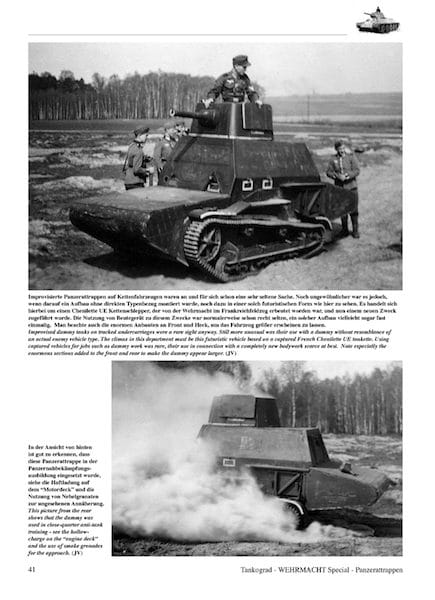 Panzerattrappen - German Dummy Tanks - History and Variants