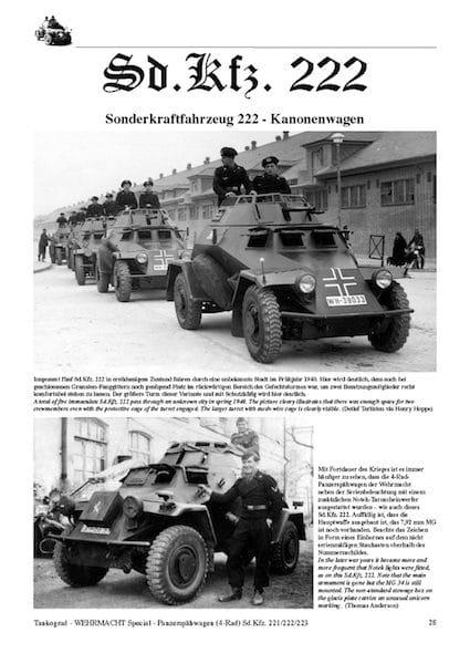 Panzerspahwagen Sd.Kfz. 221/222/223