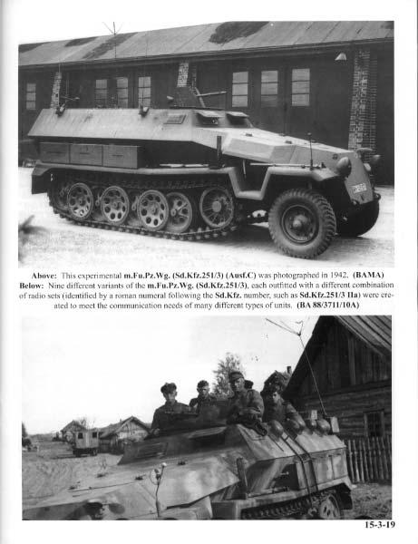 Panzer Tracts No.15-3 - mittlerer Schützenpanzerwagen (Sd.Kfz.251) Ausf.C & D