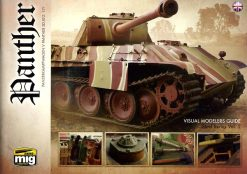 Panther: Visual Modelers Guide reference book MIG 6092 - Panzerwrecks
