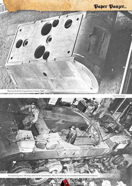 Paper Panzer: Prototypes & What if Tanks - AK 246