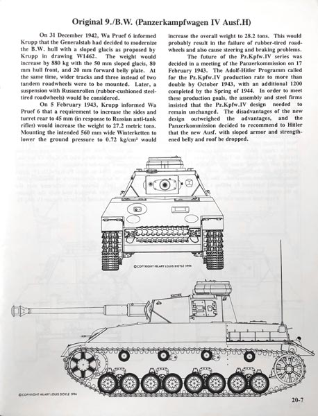 Paper Panzers Panzer Tracts No.20-1